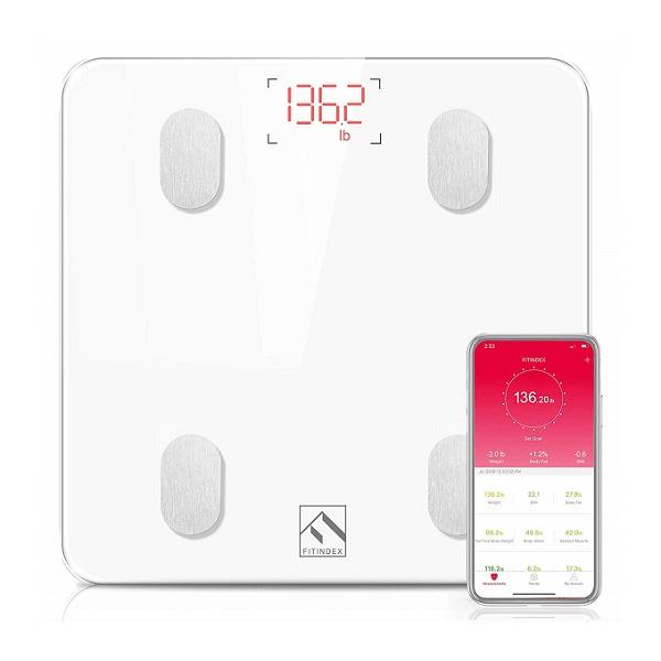 FITINDEX Smart Digital Bathroom Weight Scale