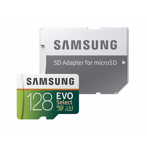 Samsung 128GB MicroSD EVO Select Memory Card