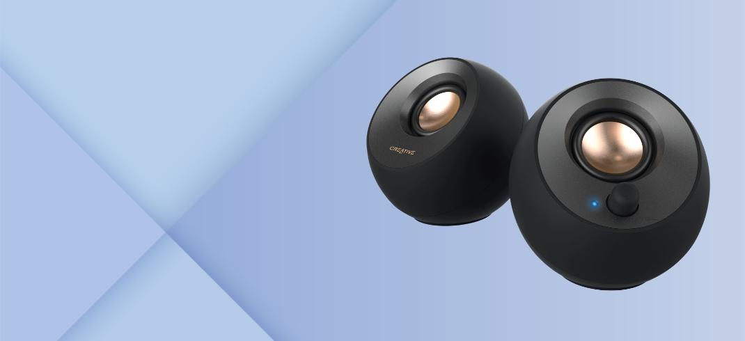 Creative Pebble 2.0 USB-Powered Desktop Speakers