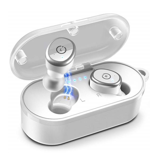 TOZO T10 Bluetooth 5.0 Wireless Earbuds - White