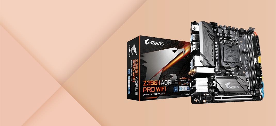 Gigabyte Z390 I AORUS PRO WiFi Mini-Itx